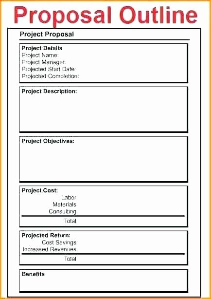 Consulting Proposal Template Doc In 2020 With Images Business
