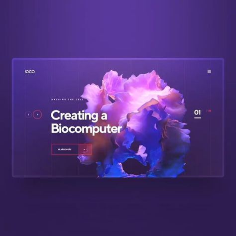 Web UI design inspiration
