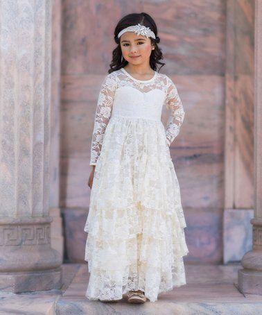 Zulily Wedding Dresses In 2020 Toddler Girl Dresses Toddler Dress Flower Girl Dresses