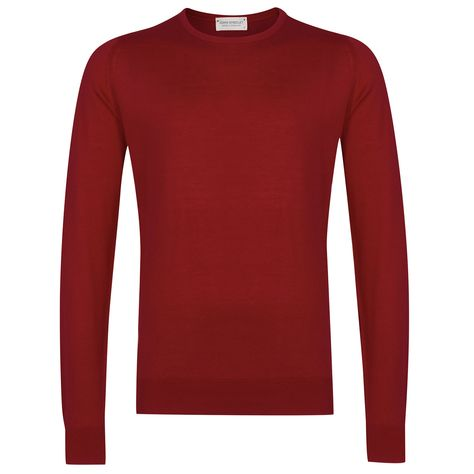 Hatfield In Anther Red | Long sleeve tshirt men, Cotton