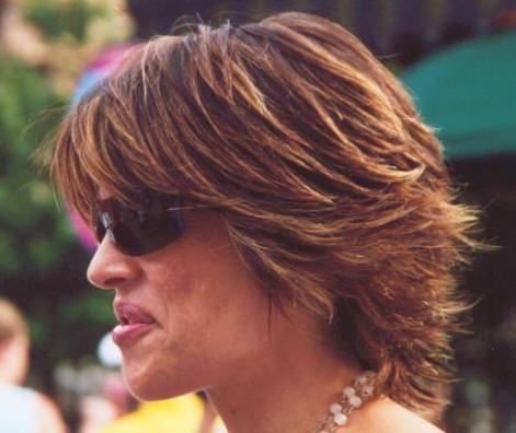 Lisa Rinna Hairstyle Back View Lisa Rinna Haircut Short Hair Styles Hairstyle