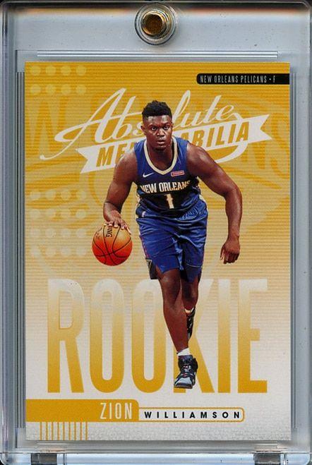 Zion Williamson Basketball Card