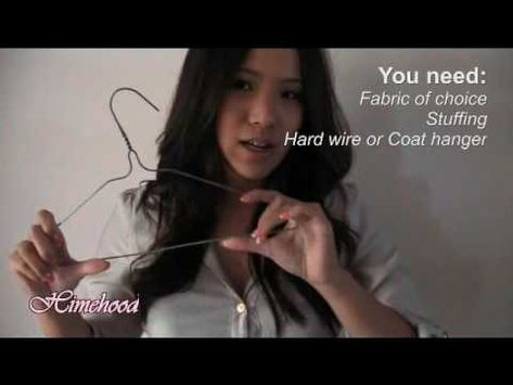 Make Ear Muffs out of Coat Hangers