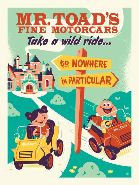 Fantastic Vintage-Style Theme Park Attraction Art Coming to Disney Springs This Weekend - WDW News Today