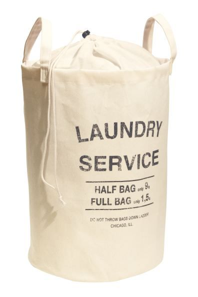 Laundry Bag In 2020 With Images Laundry Bag H M Home