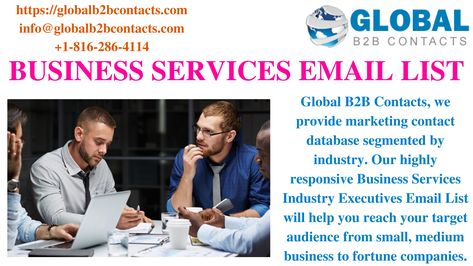 BUSINESS SERVICES EMAIL LIST