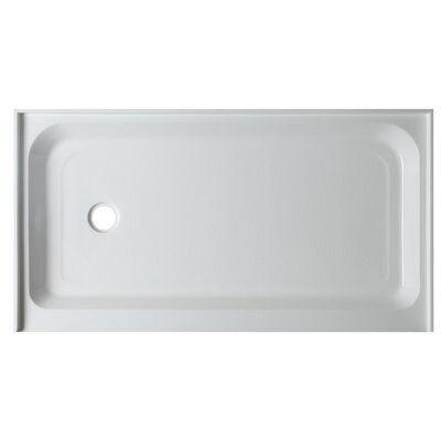 Anzzi Tier Single Threshold Shower Base Size 5 5 H X 60 W X 32