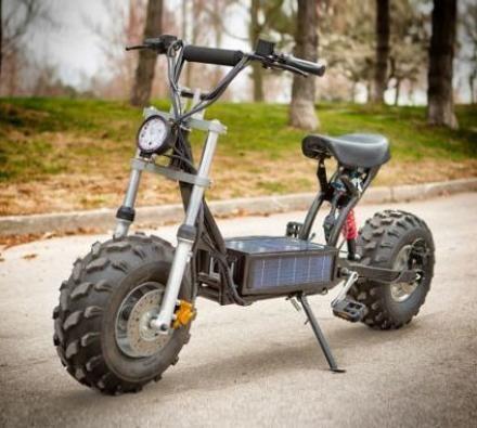 Daymak S The Beast A Solar Powered Mini Bike Gadgets