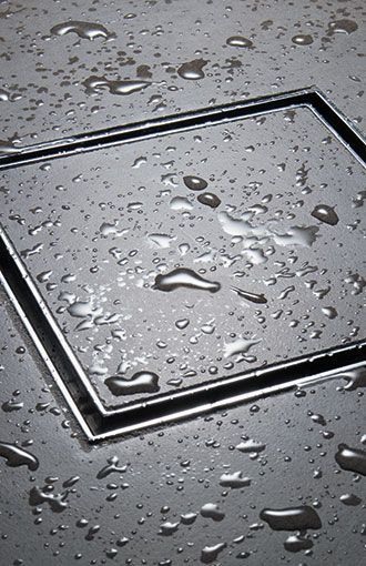 Flush Shower Drain Cover That You Inlay Your Tile In. No More Nasty Drain  Covers