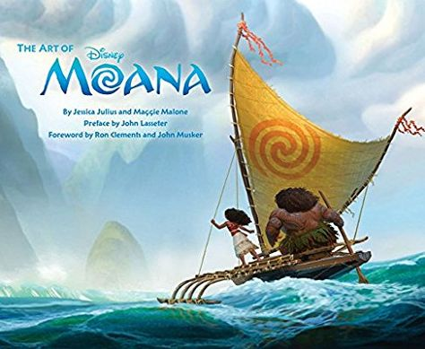 Art of Moana (Disney Pixar) (Inglés) Tapa dura – 1 nov 2016