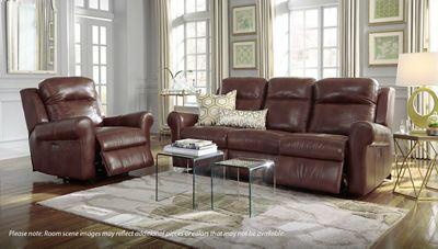 Palliser Vega Leather Power Sofa Recliner With Power Tilt Headrest Jordan S Furniture Reclining Sofa Sofa Recliner