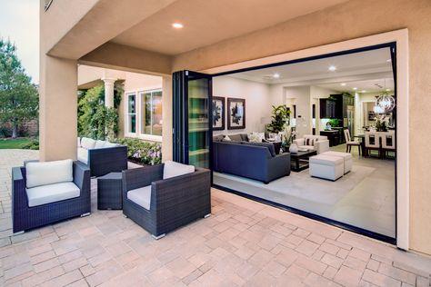 Open E Design With Lacantina Doors Marvelous Patio