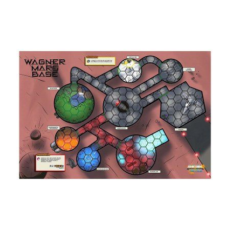 Sentinel Tactics: Wagner Mars Base Scenario Map