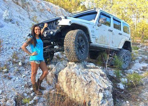 Jeep JK — #jeep-jk-life #jeep #wrangler #jeepHer #jeepgirl...