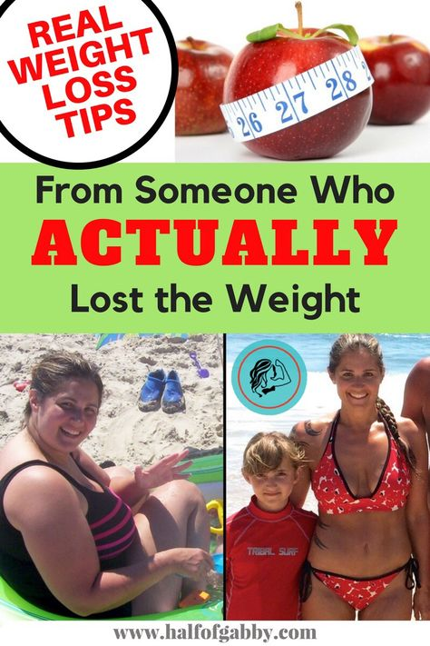 REAL WEIGHT LOSS TIPS and ADVICE: From Someone Who Actually Lost the Weight — Half of Gabby