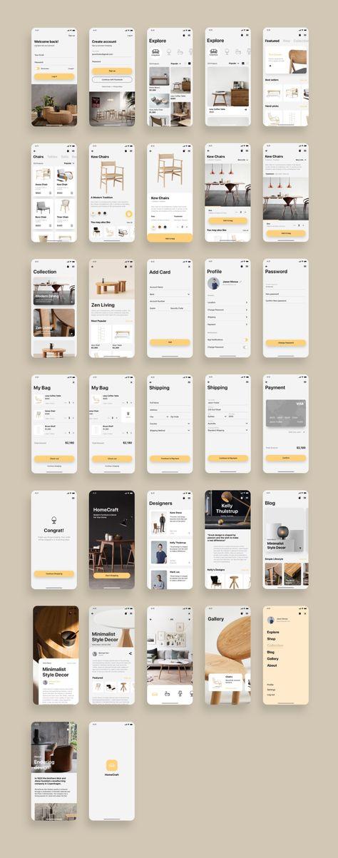 Shopping App UI Kit Bundle — UI Place