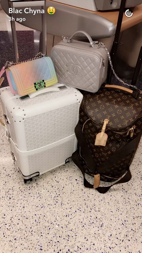 pack your bags and let's go some place Luxury Purses, Luxury Bags, Luxury Handbags, Purses And Handbags, Cute Luggage, Travel Luggage, Travel Bags, Pink Luggage, Sacs Design
