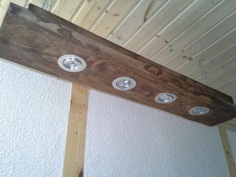 LED Hängelampe / Deckenlampe aus Holz braun Set von Ars-Vivendi feat. Wollschaaarf auf DaWanda.com