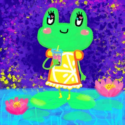 Bubble Tea Frog on Behance