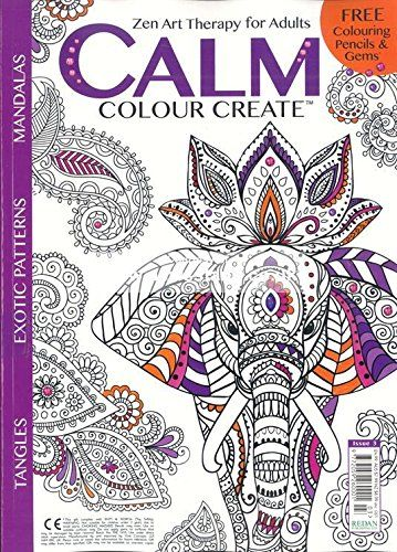 Calm Color Create Calm Color Create An Adult Coloring Book And