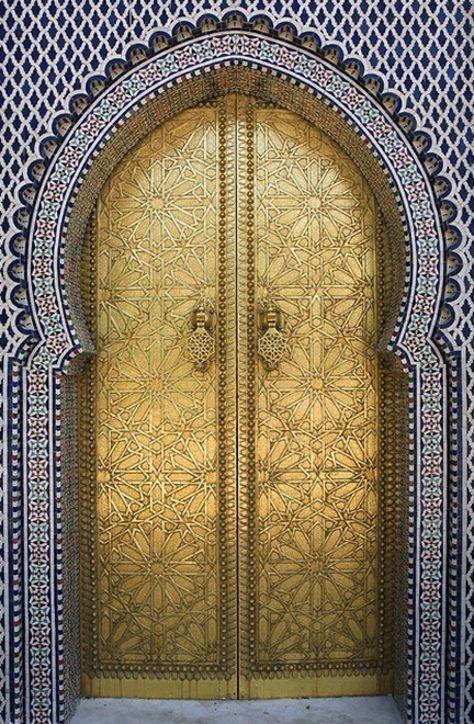 Front Door | Paint Color | Moroccan Design