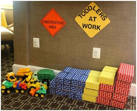 There are only two ways to live your life.: Construction Truck Themed Birthday Party