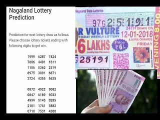 05 08 2018 Target Number Nagaland State Lottery Prediction State