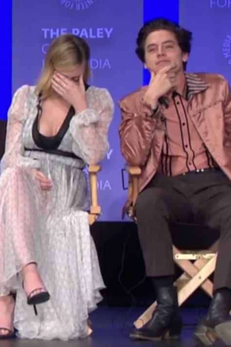 A Riverdale Fan Asked Cole Sprouse and Lili Reinhart If They're Dating, and It's SO Awkward