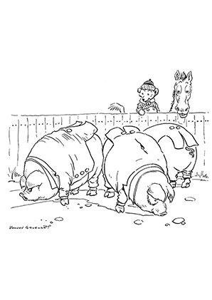 Ausmalbild Schweine Beim Essen Zum Kostenlosen Ausdrucken Und Ausmalen Fur Kinder Ausmalbilder Malvorlagen Au Ausmalen Ausmalbilder Tiere Ausmalbilder