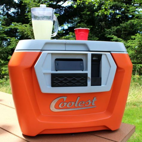 The Coolest Is A Cooler With A Built-In Blender, Speaker, And USB Charger