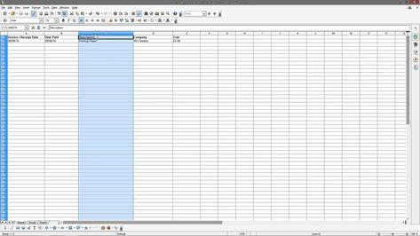 Open Office 4 - Calc Spreadsheet Beginners Tutorial - DCP Web - open office spreadsheet