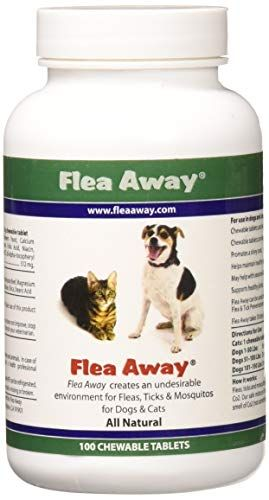 Flea Away All Natural Flea Repellent For Dogs And Cats 100 Chewable Tablets 2pack Check Out This Great Produ Tick Repellent For Dogs Cat Fleas Flea Repellent