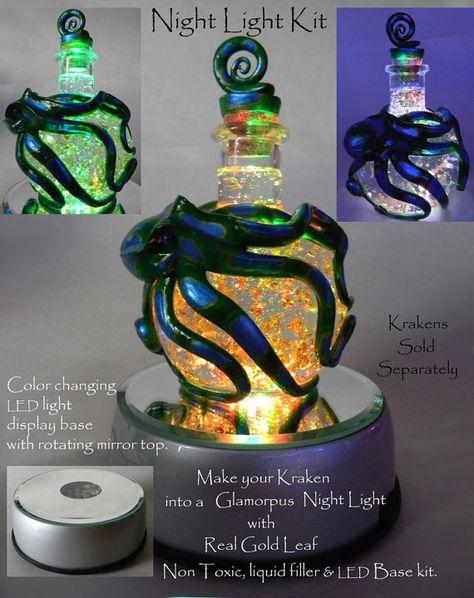 . Light up your Kraken