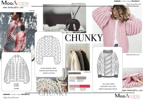 Knitwear trends FW 2020.21 only at www.modacable.com