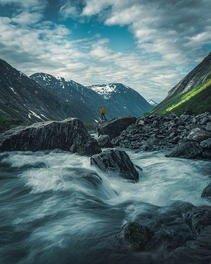 Norwegian Landscape Roger Kristiansen On Spania