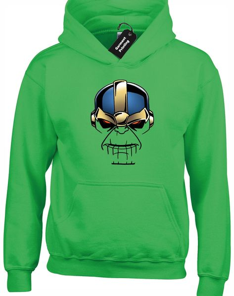Unisex hoody 50% Cotton/50% Polyester Brand New Printed to the front All Hoody's have drawcords Size Chart S 34-36 M 38-40 L 42-44 XL 46-48 XXL 50-52 Washing Instructions Always wash inside out Recommended low temperature wash - (30 degrees celsius) Do not Iron on Print Do not Tumble dry