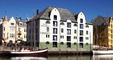 Hotel Brosundet Alesund Norway Historic Hotels Alesund Hotel