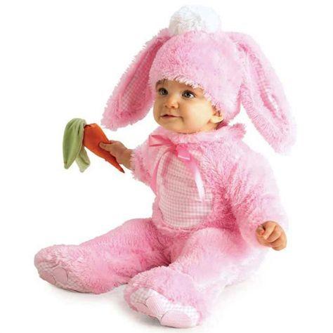 Rubies Pembe Tavşan Bebek Kostümü RUB885352