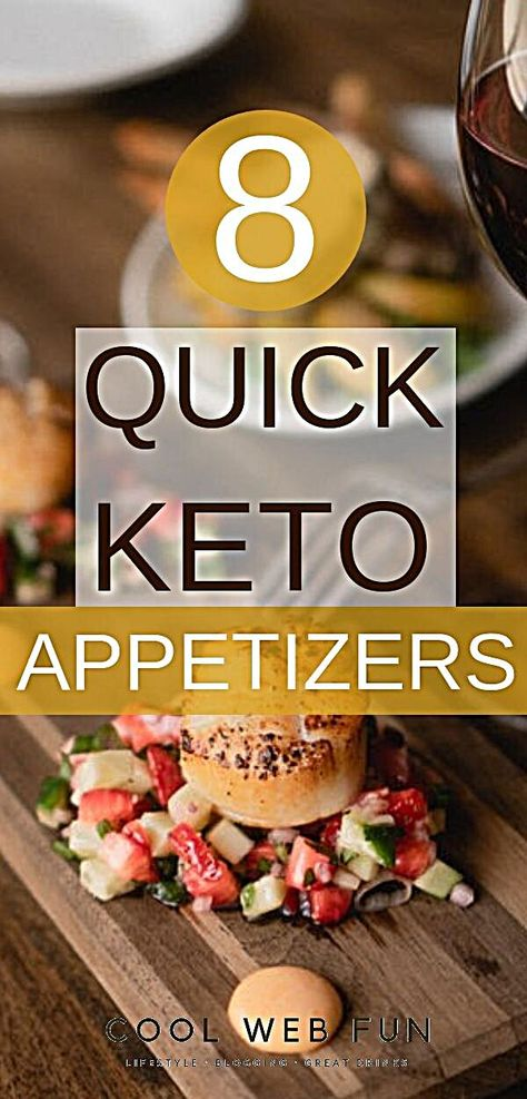 Keto appetizers for ketogenic diet are the most delicious foods. They are low carb and can even be served cold. Keto appetizers are great for parties or Thanksgiving. Check out the 8 keto appetizer ideas. Easy Keto Appetizers - 8 keto appetizers which will rock your party. Not only delicious but pretty to look at. Check out the easy keto appetizers which you can make in a hurry. #woadelish #FoodIsBae #FoodOfIG #foodspo #foodporn #breakfast #bhfyp #foodiefeature #foodinsta #tasty #foodlover #food