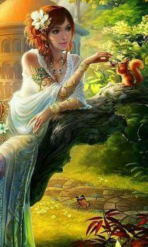 Woman In The Garden (84 pieces)