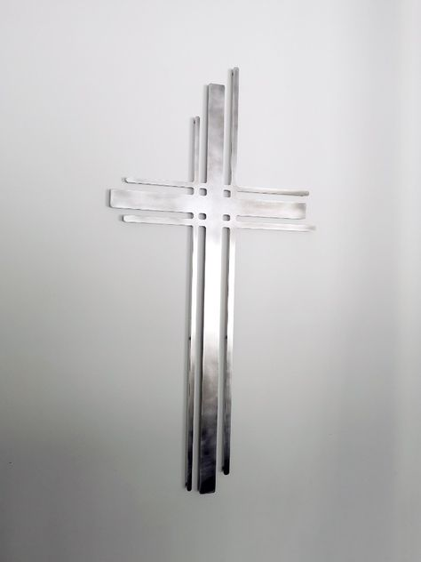 Laser Cut Metal Wall Art (Contemporary Cross) #MetalCross #Cross #WallCross #ModernCross #ContemporaryCross