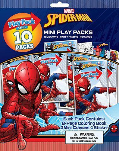 Bendon 41883 Spider Man 10 Mini Play Packs Bendon Https Www Amazon Com Dp B0771r931y Ref Cm Sw R Pi Dp Spiderman Spiderman Birthday Spiderman Birthday Party