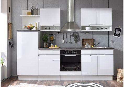 15 best Moderne Küchenzeilen images on Pinterest - kleine küche l-form