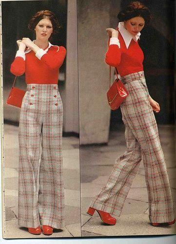 70's Double knit trousers - Faaaab. #retrofashion2019