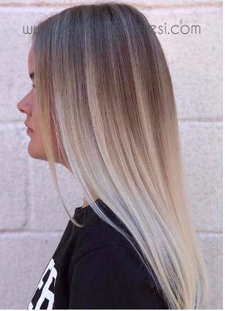 Kullu Sari Sac Rengi Fikirleri Idee Couleur Cheveux Blond