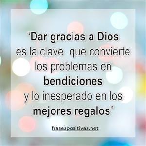 Reflexiones De Agradecimiento A Dios Palabras De