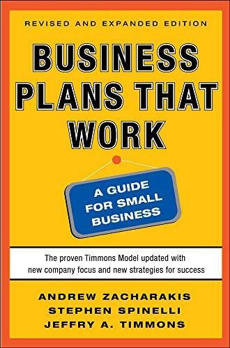 Business Plans that Work: A Guide for Small Business 2/E - Default