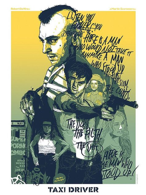 This Artist Designs Brilliant Alternative Posters For Films And TV Series