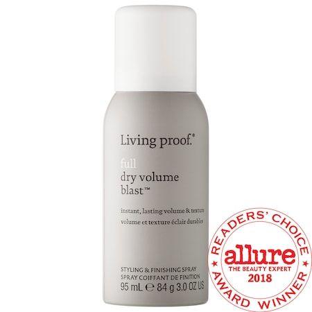 Full Dry Volume Blast Mini Living Proof Sephora Best Volumizing Hair Products Styling Sprays Beauty Products Drugstore
