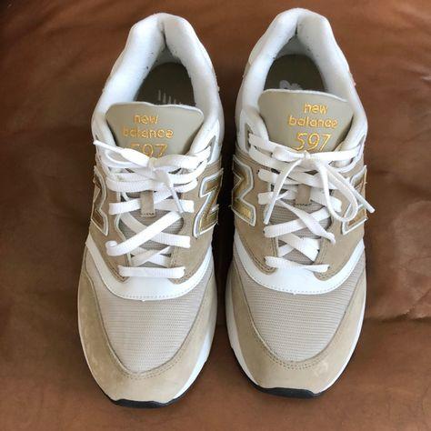 new balance 597 gold